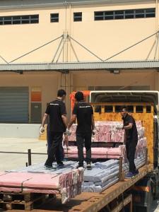 貨架中澳運輸
